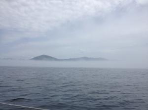 Half foggy
