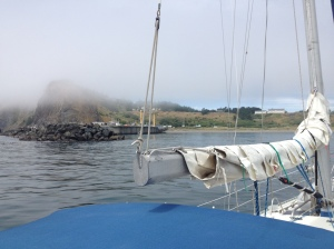 Pulling in to Port Orford