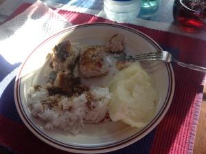 Albacore dinner