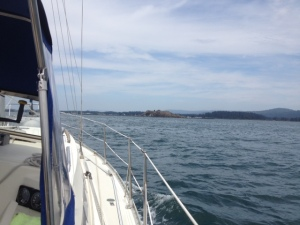 Approaching Crescent City