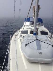 Underway to Port Angeles, fog rolling I