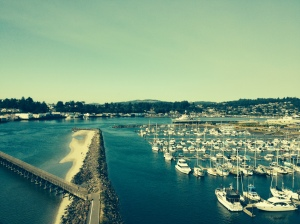 View of Newport Marina