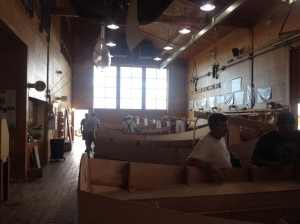 Wooden boat building classes