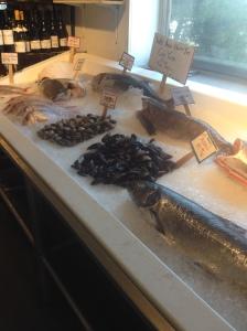 Fresh seafood abundance