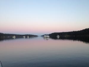 Stuart Island, Reid Harbor
