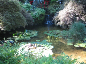 Japanese Garden at Butchart