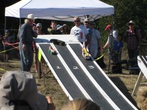 Zucchini car races!