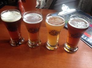 Granville Island Brewery sampling