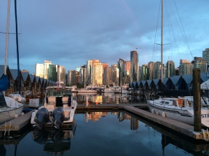 Beautiful downtown Vancouver