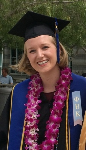 Amy graduating from UCSD