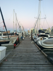 Dock at Vancouver Rowing Club