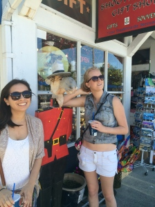 "Got to check ""photo with a Mountie"" off the list!"
