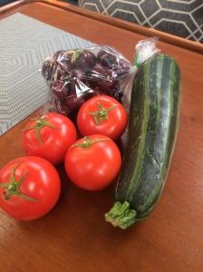 Treats from the farm market