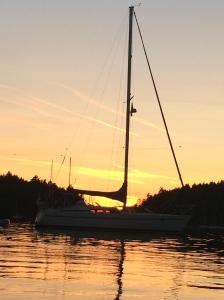 Sunset at Montague