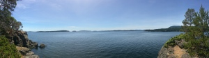 Panorama from Russell Island views