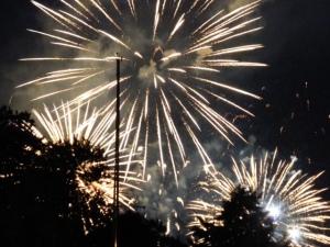 1st of July (aka Canada Day) fireworks