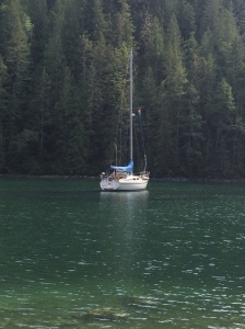 Anchored at Tenedos Bay