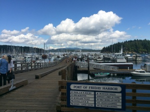 Friday Harbor is a busy place