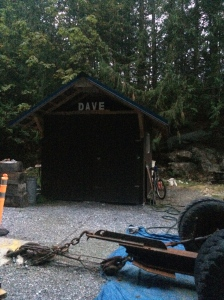 Dave's shed I guess