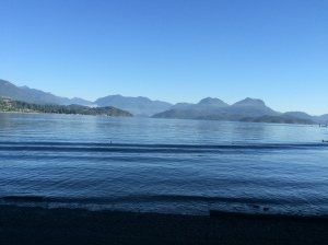 Leaving Desolation Sound