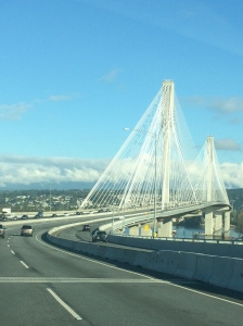 A beautiful bridge - was until recently the widest in North America