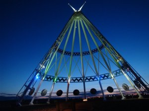 World's largest Teepee. Medicine Hat, Alberta