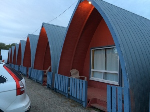 Quaint motel in Brandon, Manitoba (at least on the outside)