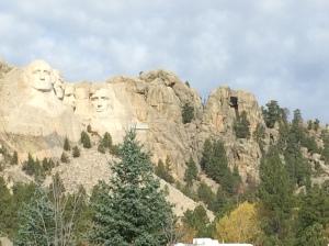 Mount Rushmore - quite impressive
